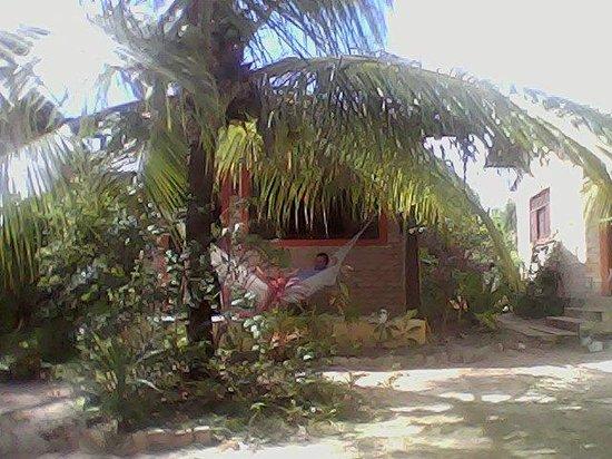 Barra de Cunhau: um dos chales