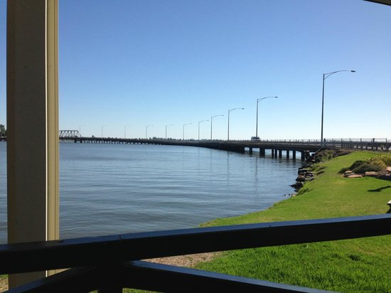 ‪‪Yarrawonga‬, أستراليا: View from our table‬