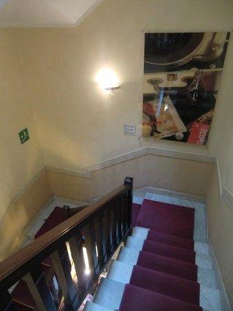 Hotel Select Garden : hotel sem elevador, mas são só dois pisos