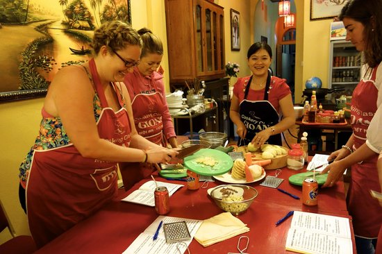 Gioan Cooking Class: Everybody had fun