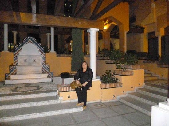 Saray Hotel: Entrada externa del hotel