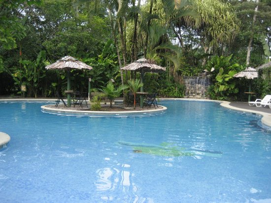 Laguna Lodge Tortuguero: Hotel pool