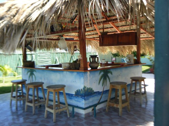 Playa Chiquita: petit bar