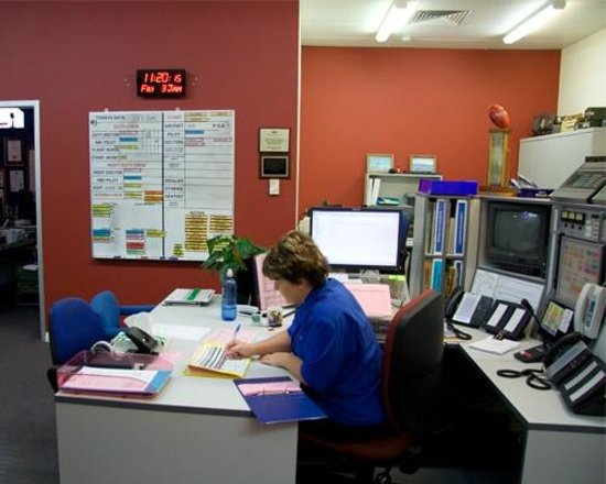 Royal Flying Doctor Service, The Bruce Langford Visitors Centre: RFDS Control Centre