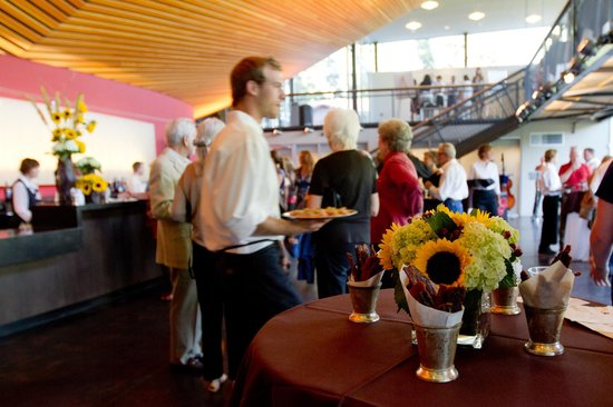 Center for the Arts: Reception in the Center's Theater Lobby