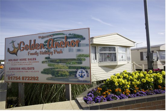 Chapel St. Leonards, UK: Golden Anchor Caravan Park