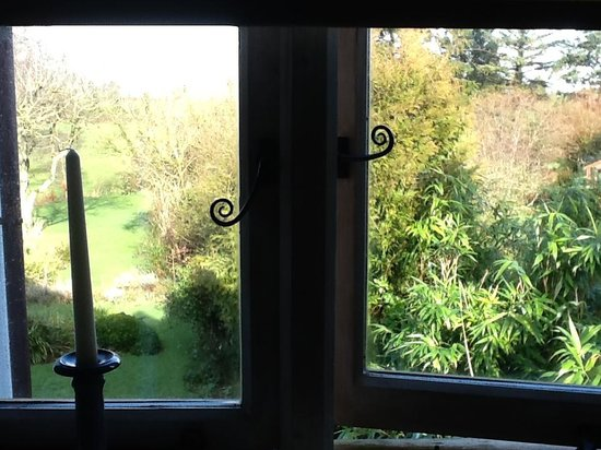 Somerset Bed and Breakfast: View from the en-suite bathroom window
