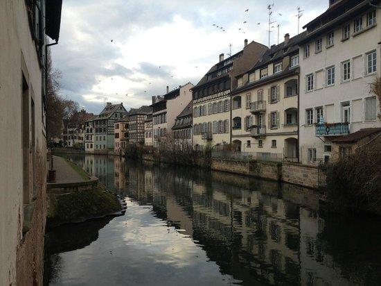 La Petite France: the canals