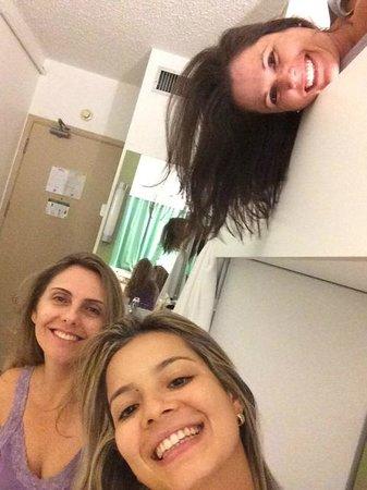 Ibis Budget Sao Paulo Paraiso: quarto apertado
