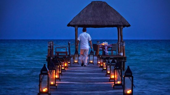 Viceroy Riviera Maya: Private Dinner on the Pier
