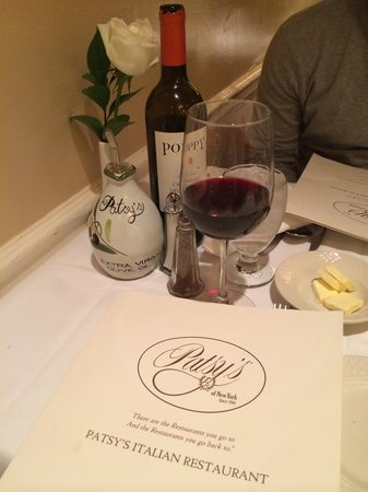Patsy's Italian Restaurant : Yummy olive oil