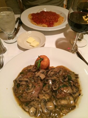 Patsy's Italian Restaurant : Our meals