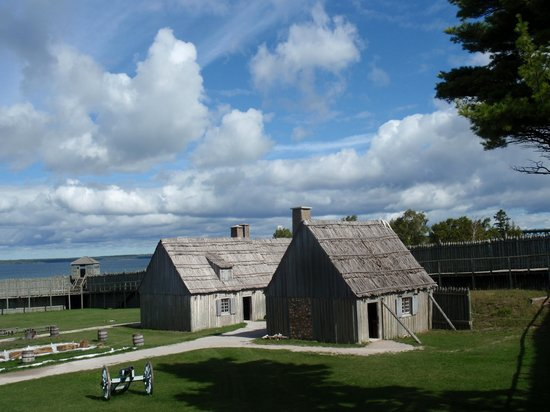Colonial Michilimackinac: Inside the fort