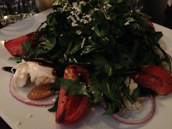 Pastameli's: Caprese Salad with Boccinchini & Tomatoes & Arugula
