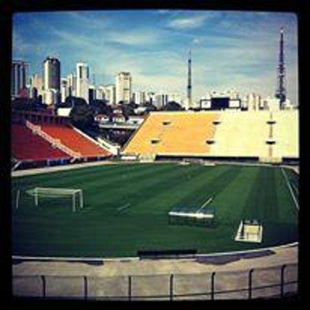Museu do Futebol (Fußball-Museum): Vista para o Pacaembu