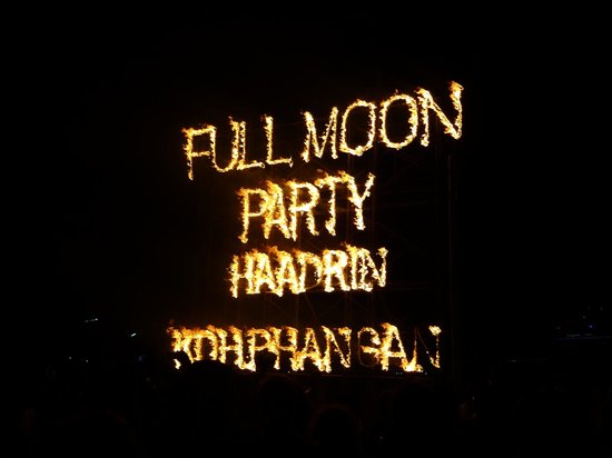 Full Moon Party: FMP Sign