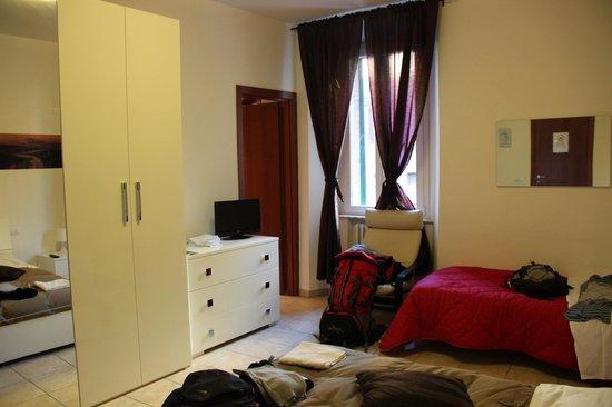 B&B Le Camere di Livia: Habitación doble, con baño privado