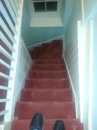 Tower House : steep stairs