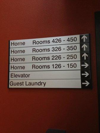 Novotel Queenstown Lakeside: room directory