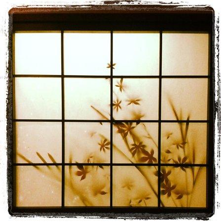window at the Dormy Inn Shinsaibashi