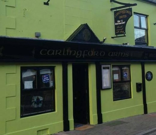 Carlingford Arms : The side door