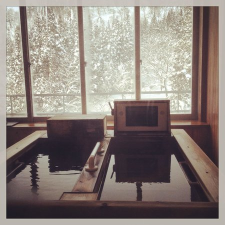 Ginzanso: 房間裡的溫泉