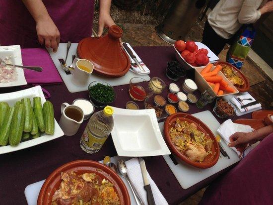 Zamzam Riad: Cooking class