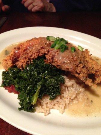 New World Bistro Bar: Chicken Fried North Carolina Catfish