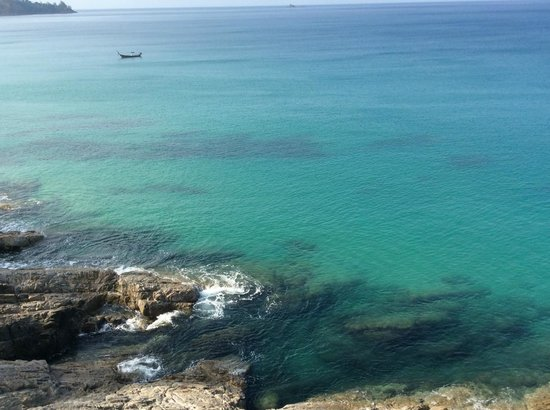 Pullman Phuket Arcadia Naithon Beach : Sea straight out from the hotel