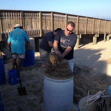 Sandcastle Lessons : Concentration