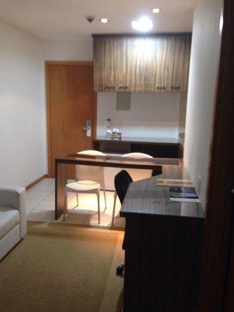 Nobile Suite Monumental: Quarto com mini-cozinha e escritório