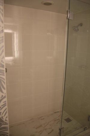 The Silversmith Hotel: Nice tile shower
