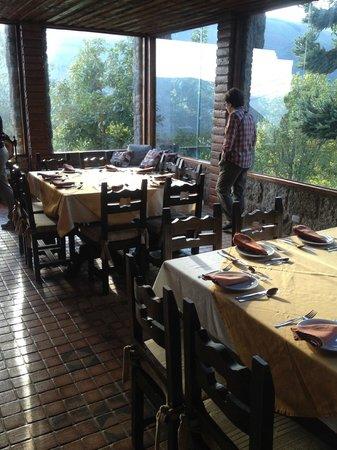 Hacienda Manteles: Dining hall