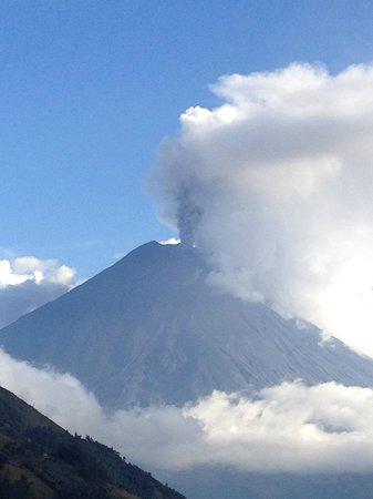 Hacienda Manteles: Volcano Turahuanga(?)