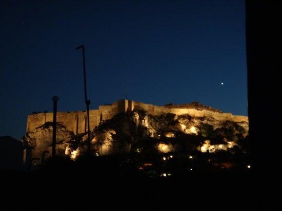 Central Hotel Athens: vista do quarto