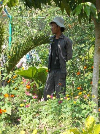 Kep Butterfly Farm : Groundskeeper