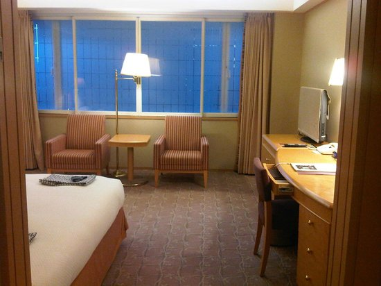 Hotel Okura Tokyo : View of the room upon entry