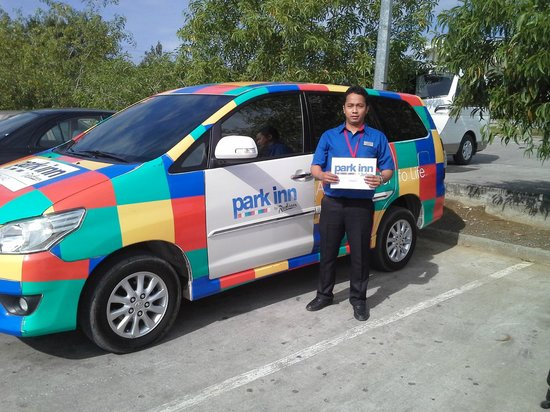 Park Inn by Radisson Davao: Hotel Service Shuttle