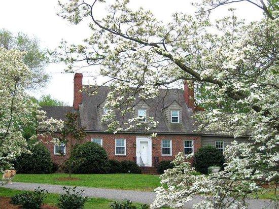 Fleeton Fields Bed & Breakfast: House front of Fleeton Fields