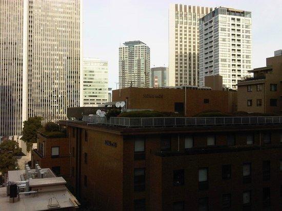 Hotel Okura Tokyo : Buildings around the hotel