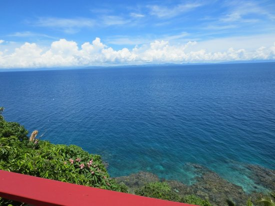 Namena Island Dive Resort: View from our balcony