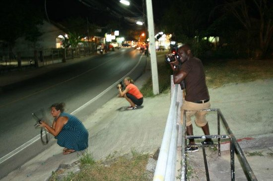 Oasis ed. Phuket: Waiting for lights and traffic during the Low Light Photography workshop