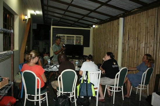 Oasis ed. Phuket: The temporary classroom for our Low Light Photography Workshop at the new location of the Book C