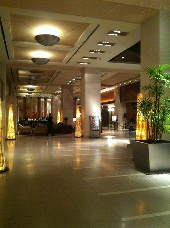 Hotel Nagoya Castle: 落ち着いたロビー
