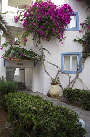 Christiana Beach Hotel : вход в один из корпусов