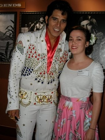 Rock-A-Hula: my daughter with 'Elvis'