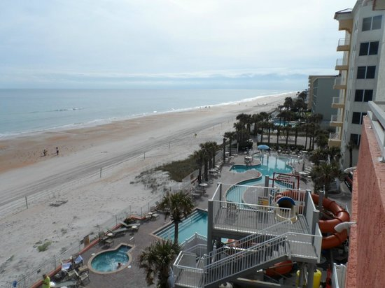 The Cove on Ormond Beach: view from 5th floor N tower