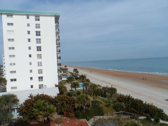 The Cove on Ormond Beach: view from 2nd bedroom deck