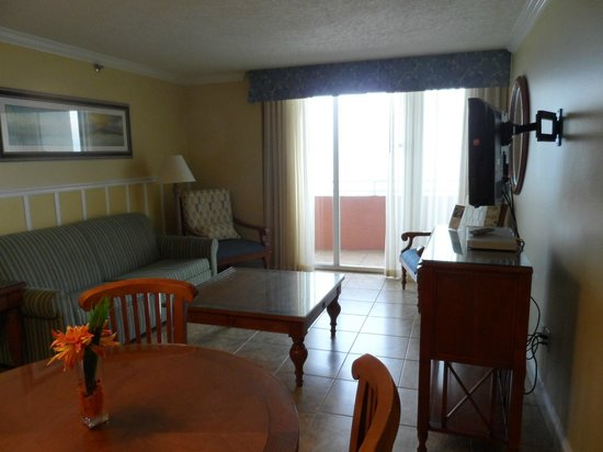 The Cove on Ormond Beach: we got a new sofa when we were there