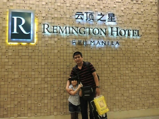 Remington Hotel: with daddy and our princess